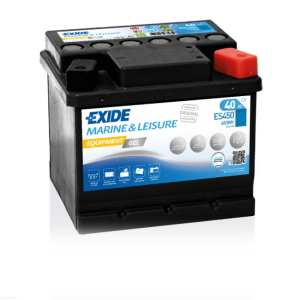 40Ah/280A  Akumulator EXIDE Equipment  GEL ES450