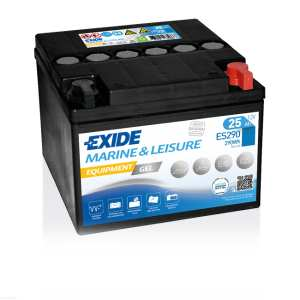 25Ah/150A  Akumulator EXIDE Equipment  GEL ES290
